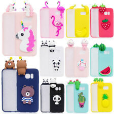 Cute 3D Cartoon Shockproof Soft Silicon Case Cover for Samsung J310/510/710