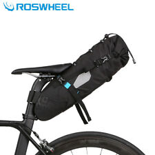 Waterproof Cycling Mountain Bike Bag Rear Seat Pannier MTB Bicycle Saddle Rack