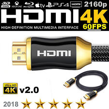 HDMI CABLE LEAD 2160P 1 - 30M HIGH QUALITY GOLD PLATED FOR SAMSUNG LG OLED 4K TV