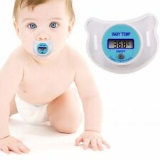 10 Pack - New Baby LCD Digital Infant Temperature Nipple Thermometer - Retail