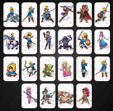 18 Full Set NFC PVC Tag Card ZELDA BREATH OF THE WILD WOLF LINK for Switch