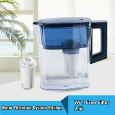 Spotless Filter Pitcher Drinking Water Cleaning Jug Inner Filter Replaced 2.5L