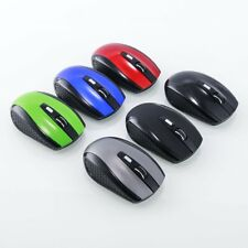 Wireless 6D 2.4GHz 1600DPI USB Optical Gaming Mouse Mice For Laptop Desktop PC