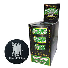 Smokey Mountain Herbal Snuff/Chew -Wintergreen Pouch 10ct - w/ DC Skin Can Cover
