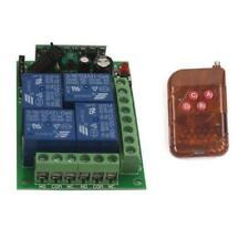 12V 4CH Channel Wireless Switch Relay Remote Control 1/2/3 Transmitter Receiver