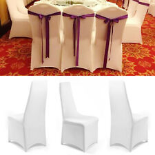 10 Chair Covers Protector Spandex Lycra Universal Slipcovers Home Décor
