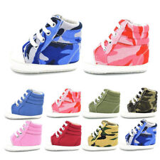 Baby Sneakers Newborn Baby Crib Shoes Girls Toddler Laces Soft Sole Shoes T0050