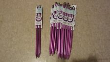 NWT-2 Sets of Boye Perfection Points Aluminum Knitting Needles US 15, US 11
