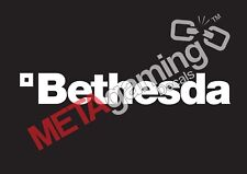 Bethesda game company logo for PC PS Xbox or Car Decal Sticker