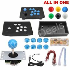 DIY Handle Arcade Set Kits All In On 5Pin Cable PC Joystick 6 Colors Unassembled