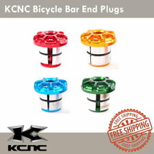 KCNC Bicycle Bar End Plugs MTB Road Bike Handlebar Plug - Blue/Gold/Red/Green