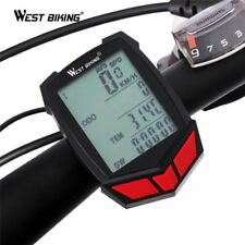 WEST BIKING Bicycle Computer Wireless 20 Functions Speedometer Odometer Cycling