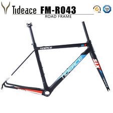 Cycling Bike Frames BB Right + Fork + Seatpost Carbon 700C Bicycle Frame Matte