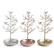 Jewelry Tree Shape Stand Display Organizer Necklace Ring Earring Holder Rack JE.
