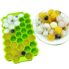 37 Cavity Silicone Bee Honeycomb Cake Chocolate Soap Ice Candle Mold Mould