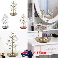 Jewelry Tree Shape Stand Display Organizer Necklace Ring Earring Holder Rack HP