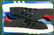 adidas Superstar II Originals  Carbon/Black/Red G99858 - New  - Free Shipping