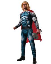 Adult's Mens Deluxe Marvel Comics Avengers Thor Muscle Costume