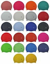 CHEX 100% Silicone Plain Boys Girls 3-7 Years Super Strong Stretchy Swimming Hat