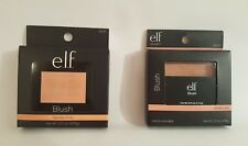 E.L.F. Cosmetics Makeup Blush Twinkle Pink Candid Coral, Powder Glow Highlighter