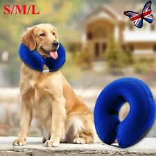 S/M/L Inflatable Dog Cat Vet Collar Alternative To Lampshade Elizabethan Collar