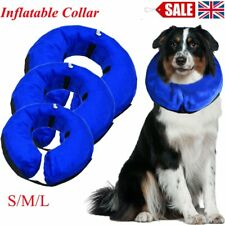Inflatable Dog Puppy Pet Cat Vet Collar Post Surgery Lampshade Cone Neck Injury