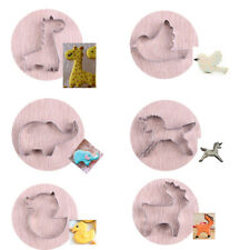 Stainless Steel Animal Biscuit Pastry Cookie Cutter Cake Decoration Mold Tools