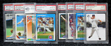 Greg Maddux / PSA Graded Cards / Hall of Famer / Cubs & Padres / w Rookie Cards