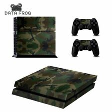 Camouflage Stickers Decal Skin Sony PlayStation 4 Console Controllers Skins PS4