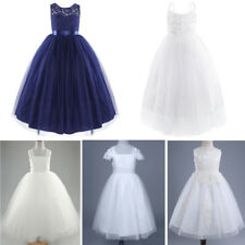 Flower Girl Dress Princess Pageant Wedding Bridesmaid Party Birthday Kid Dresses