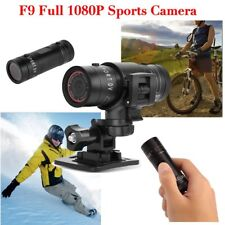 F9 HD 1080P Bike Motorcycle Helmet Sports Action Camera Video DV Camcorder BS