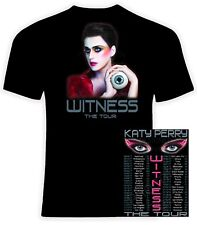 Katy Perry 2017-2018 Witness T shirt, Sizes S-6X, Long or Short Sleeve