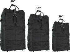 """30""""/36""""/40"""" Expandable Duffel Bag  Rolling Wheeled Spinner Suitcase Luggage"""