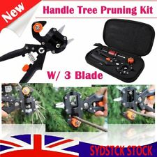 Garden Fruit Tree Pro Pruning Shears Scissor Grafting Cutting Tools Suit+Bag CZX