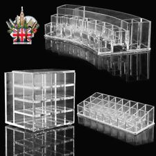 Clear COSMETIC ORGANIZER Acrylic Makeup Drawer Holder Jewellery Case Box Storage