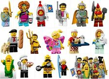 71018 lego minifigure série 17 Hot dog man con cob guy complete or choose one
