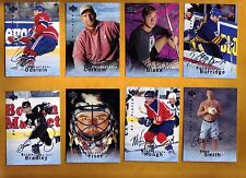 BAP 95-96 SIGNED autographed BE A PLAYER Cards #3 YOUR CHOICE  Al Macinnis 1995