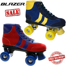 Blazer Retro Quad Roller Skates Kids Girls Junior Disco Unisex UK Size CLEARANCE