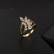 White Crystal Love wings Ring Fashion Wholesale Jewelry Lots Ring Size 6/7/8/9