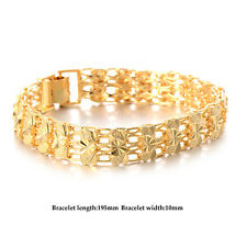 Womens heart bracelet vintage Gold filled indian european free shipping jewelry