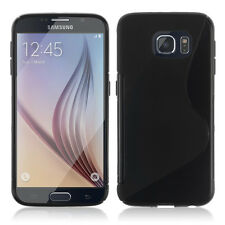 Cases for Samsung Galaxy S6 SM-G920 TPU Silicone Flip Cover Cover Shell