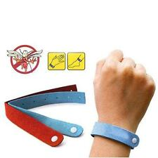 10 PCS Anti Mosquito Insect Pest Bugs Repellent Repeller Wrist Band Bracelet AE