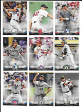 2018 Topps Series 1 SALUTE Insert SP - YOU PICK FROM LIST COMPLETE YOUR SET