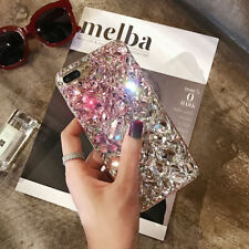 Luxury Bling 3D Crystal Diamond Rhinestone Jewelled Case Cover For iPhone 7 Plus