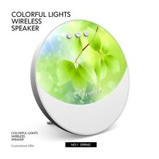 Portable Mini Wireless Bluetooth Speaker LED Colorful Stereo Audio Player BFE4