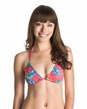 NEW ROXY™  Womens Beauty And Beyond Tiki Tri Bikini Top Womens Swimwear