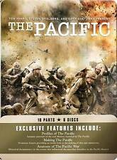 The Pacific (DVD, 2010, 6-Disc Set) Brand New Factory Sealed 10 Parts 6 Discs