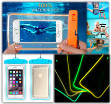Luminescent Underwater Pouch Waterproof Dry Phone Bag Case Cover iPhone 7 Plus