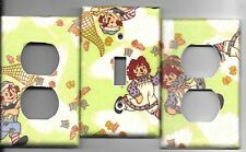 Raggedy Ann and Andy Light Switch Cover and Electrical Outlet Plates