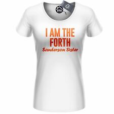 Forth Sanderson Sister T Shirt Hocus Hipster Halloween Outfit Womens Top 414